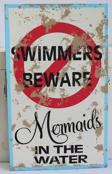 Swimmers Beware - Mermaids in the Water