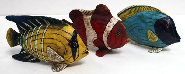 Tropical Fish Figures