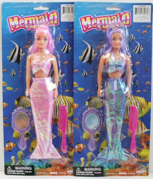 Mermaid Dolls in 2 colors