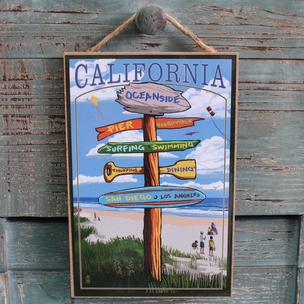 Oceanside Destination Sign
