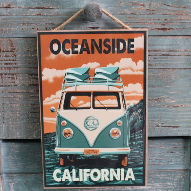 VW Bus Oceanside
