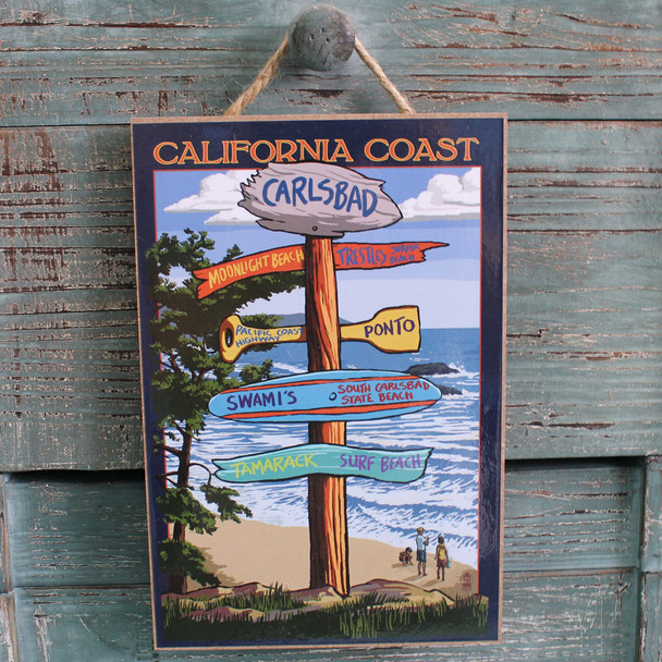 Carlsbad Destination Sign