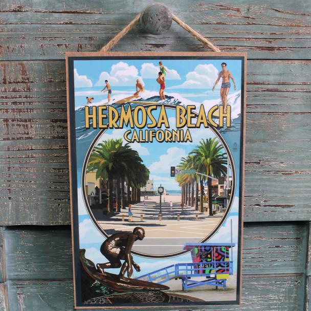 Hermosa Beach Photo Montage