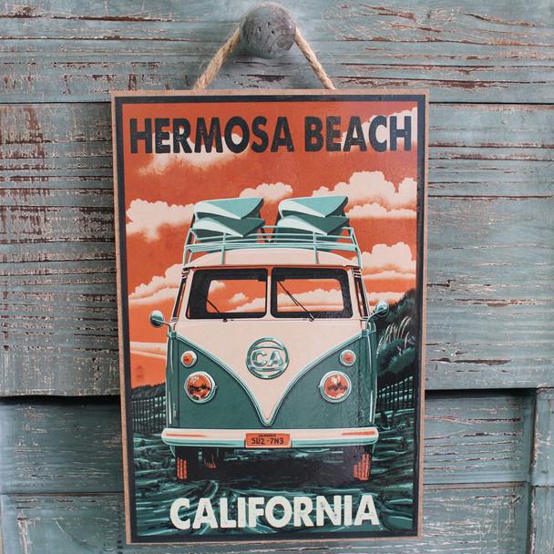VW Bus Hermosa Beach