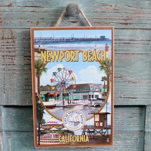 Newport Beach Scenic Montage