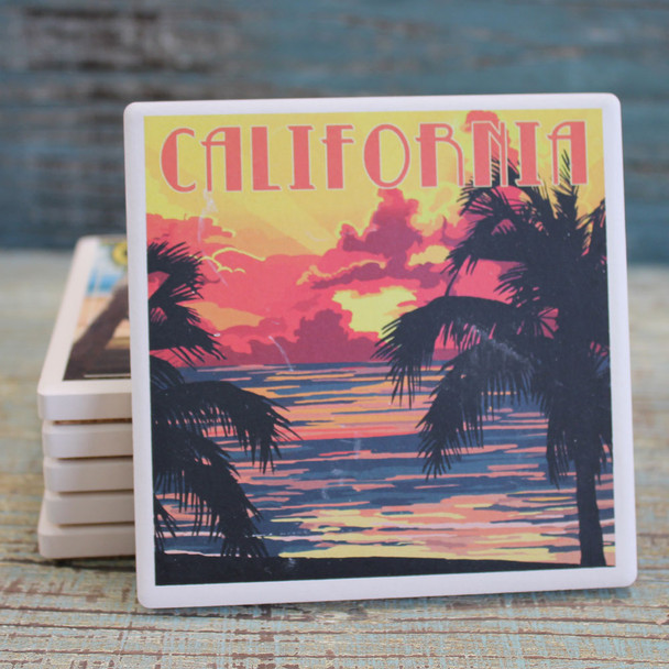 California Sunset Coaster