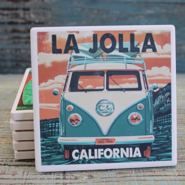 La Jolla VW Bus Coaster