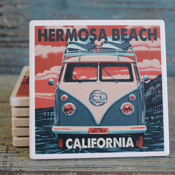 Hermosa Beach VS Bus Coaster