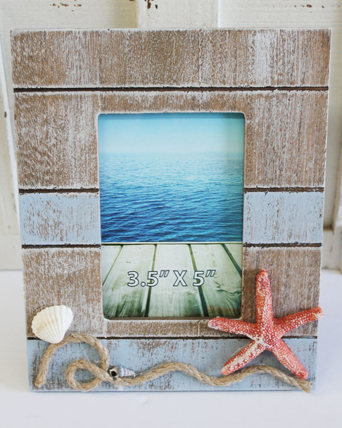 Frame with Starfish