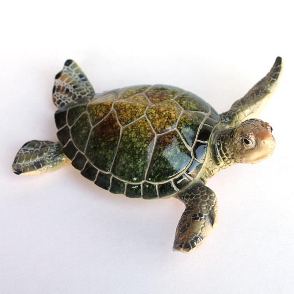 Large Green Sea Turtle figure