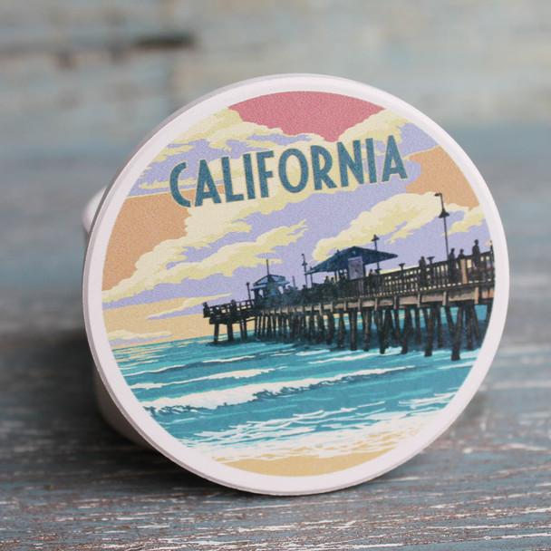 California Pier Car Coaster