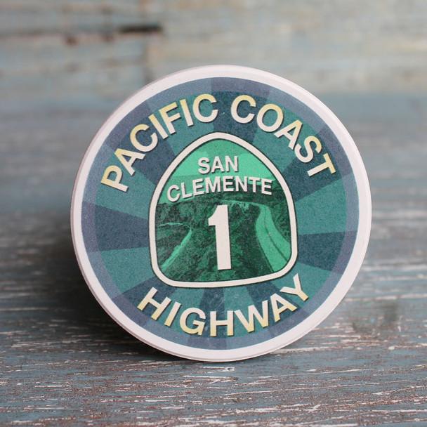 San Clement PCH Car Coaster