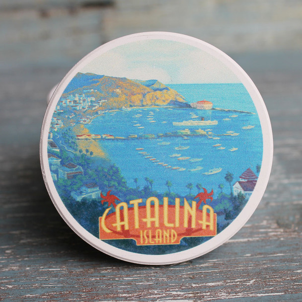 Catalina Marina Car Coaster