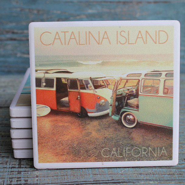 Catalina Island VW Vans Coaster