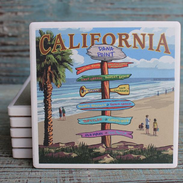 Dana Point Destination Signs Coaster
