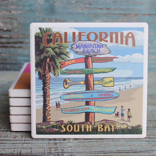 Manhattan Beach Destination Signs Coaster