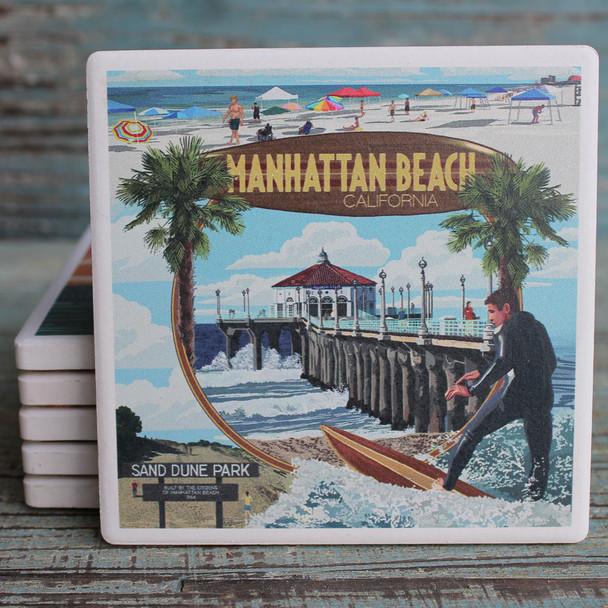 Manhattan Beach Montage coaster