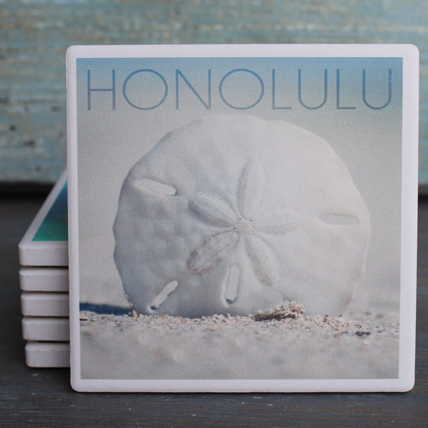 Honolulu Sand Dollar coaster