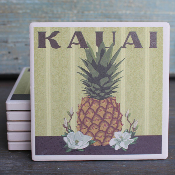 Kauai Pineapple coaster