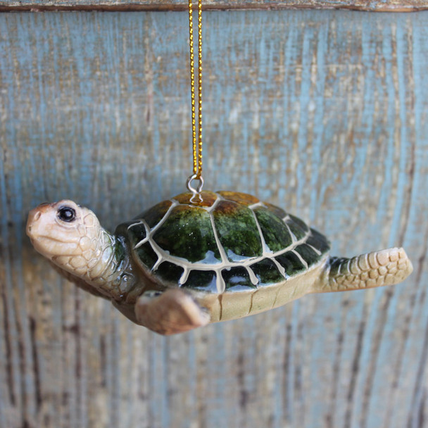 Green Sea Turtle Ornament