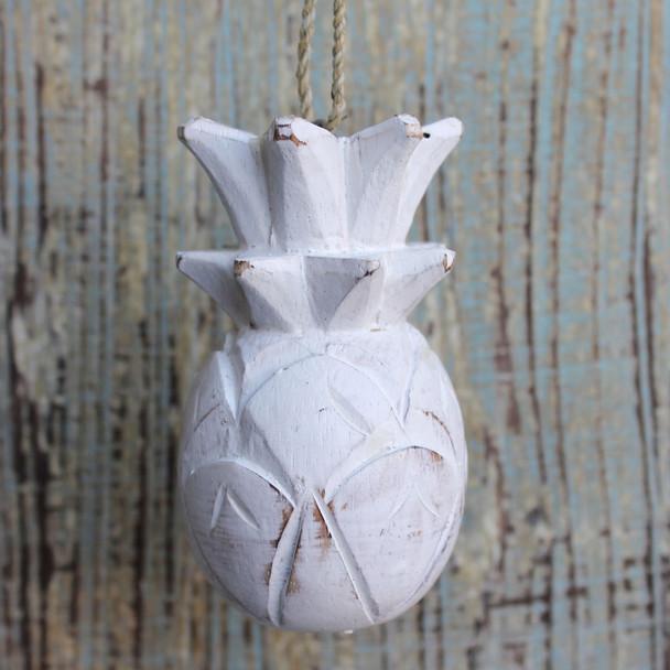 Wood Pineapple Ornament
