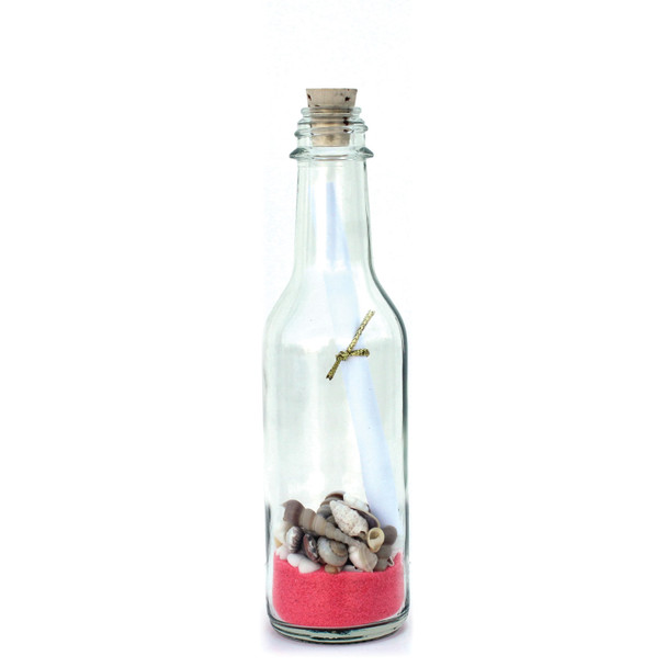 Pink Sand Message in a Bottle
