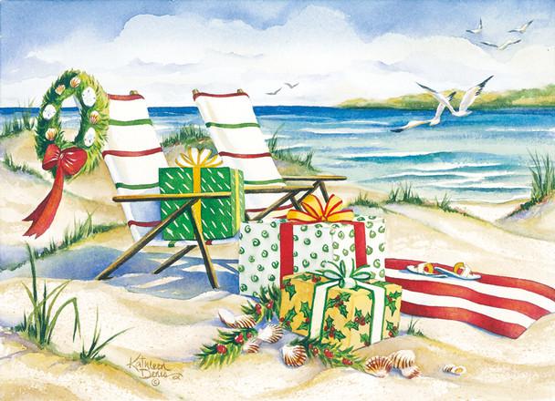Canvas Beach Chairs Cards
