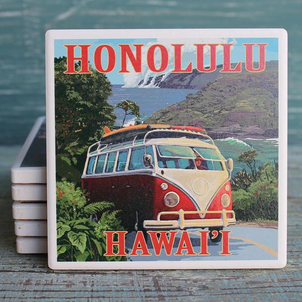 Honolulu VW Van Cruise Coaster
