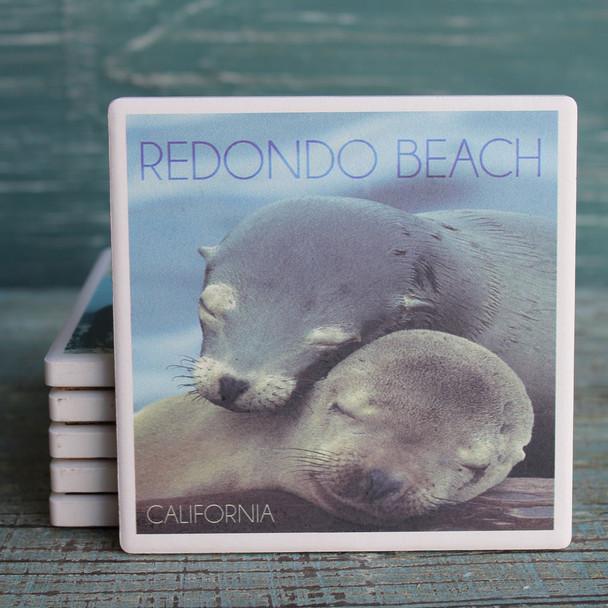 Redondo Beach Sea Lions Coaster