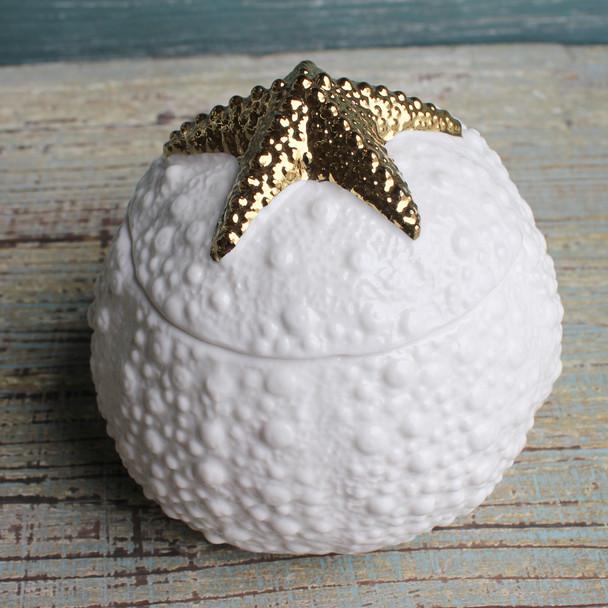 Ceramic Starfish Box