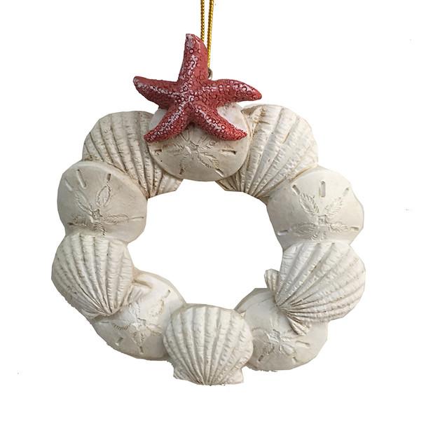 Sand Dollar Wreath Ornament