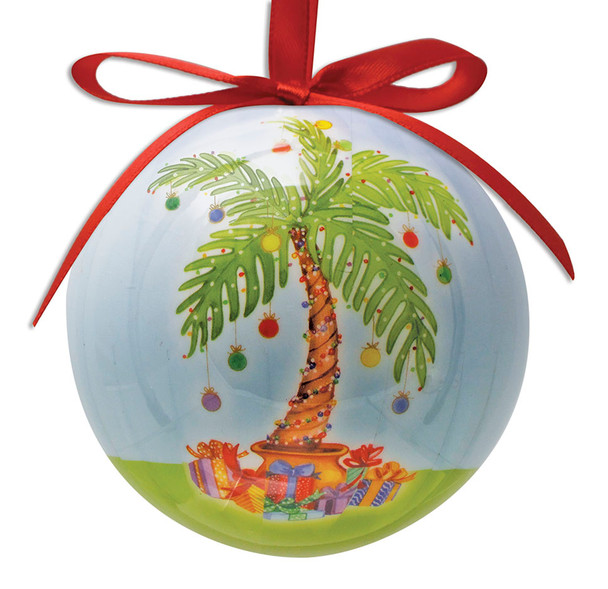 Palm Tree Gifts Ball Ornament