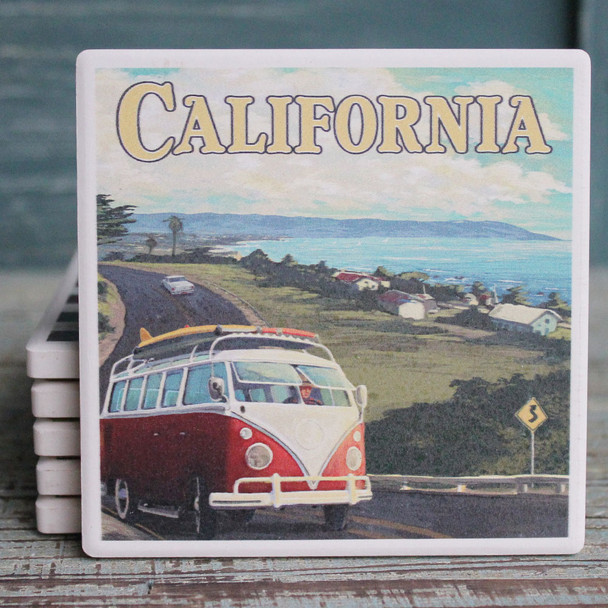 Cruisin' California VW Van Coaster