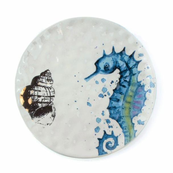 Seahorse Salad Plate