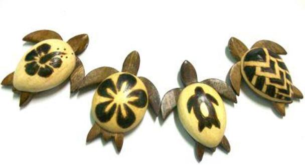 Burnt Sea Turtle Magnets