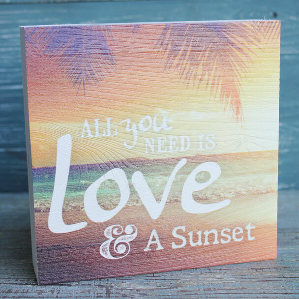 All You Need is Love & a Sunset