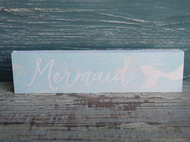 Mermaid Small Wood Sign
