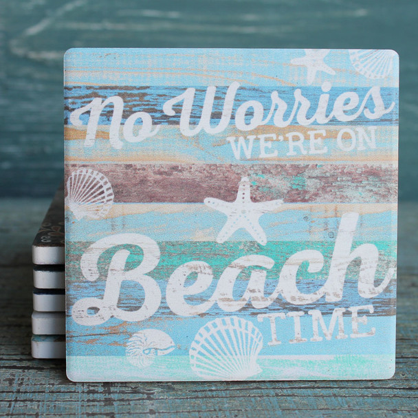 No Worries - We're on Beach Time