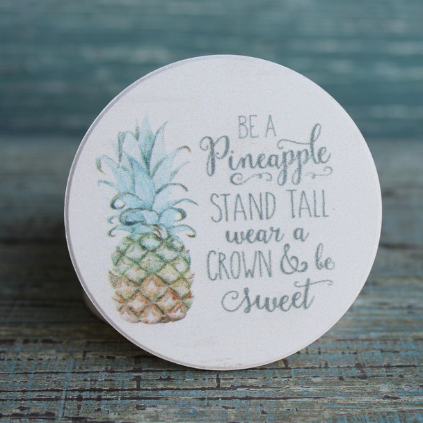 Be a Pineapple Car Coaster