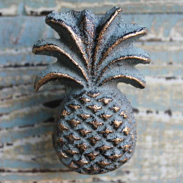 Green Iron Pineapple Knob