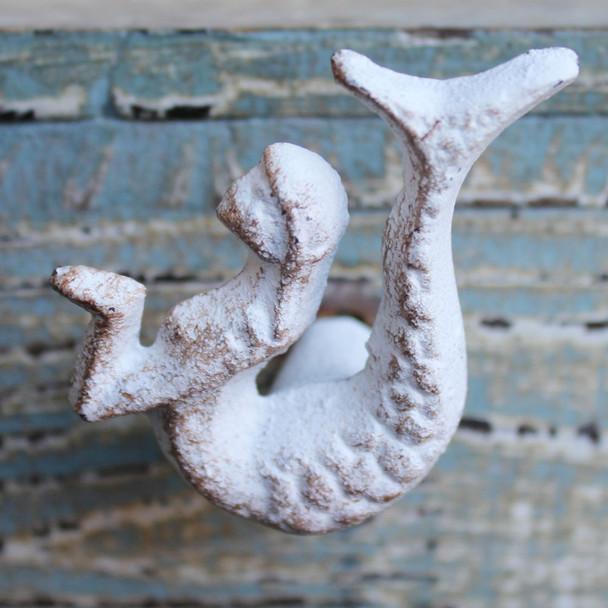 White Mermaid Iron Knob