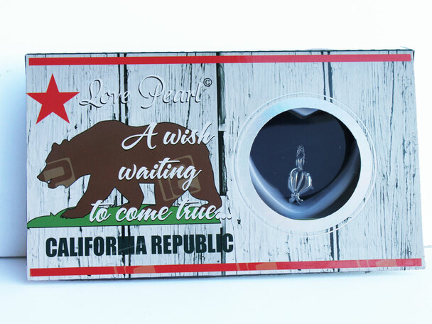 California Republic Love Necklace