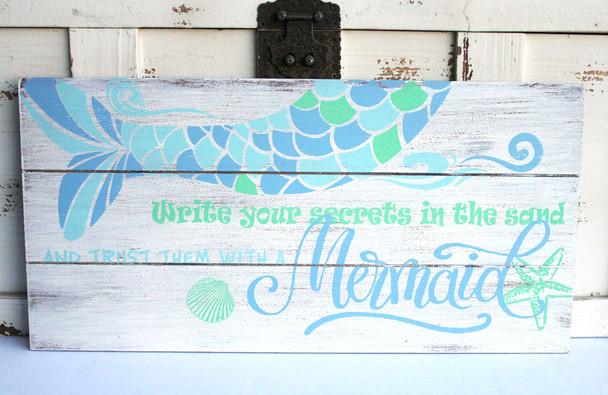 Trust a Mermaid Sign