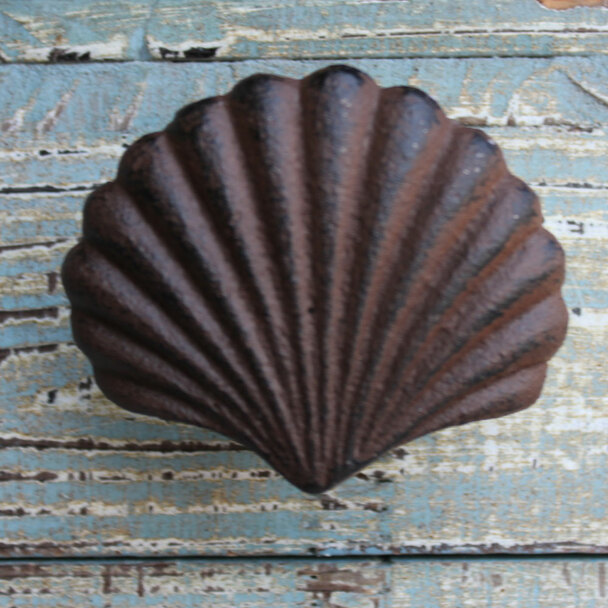 Rust Shell Knob