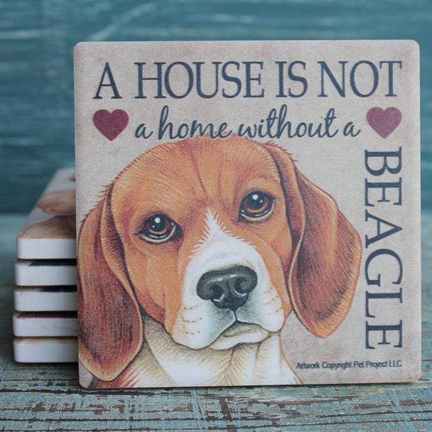 Beagle Dog Coaster