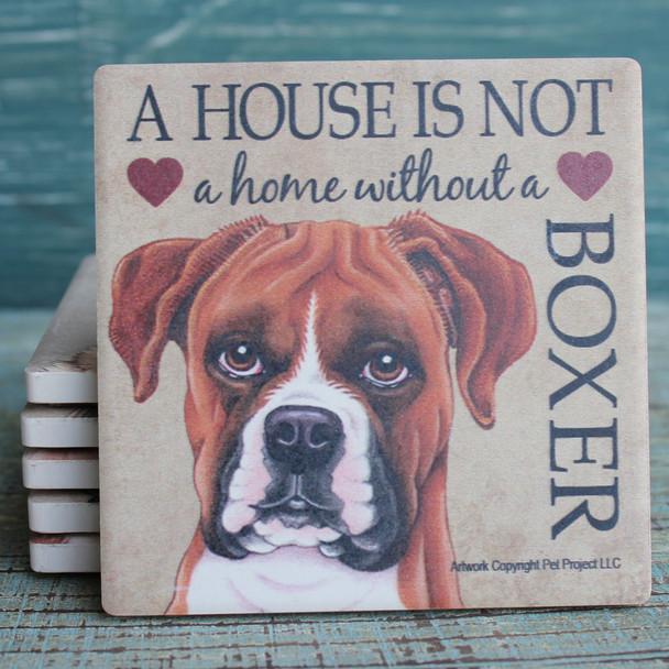 Boxer Dog Coaster