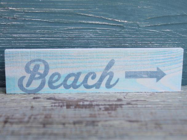Beach Arrow Candy Bar Sign