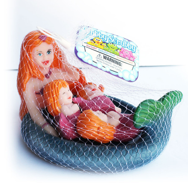 Mermaid Bath Toy