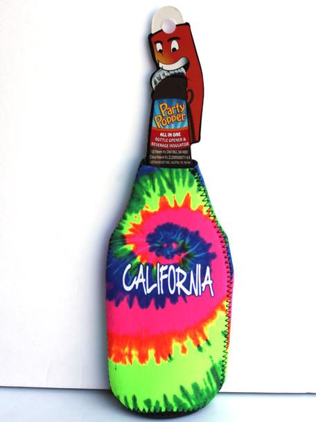 California Tie Dye Party Popper