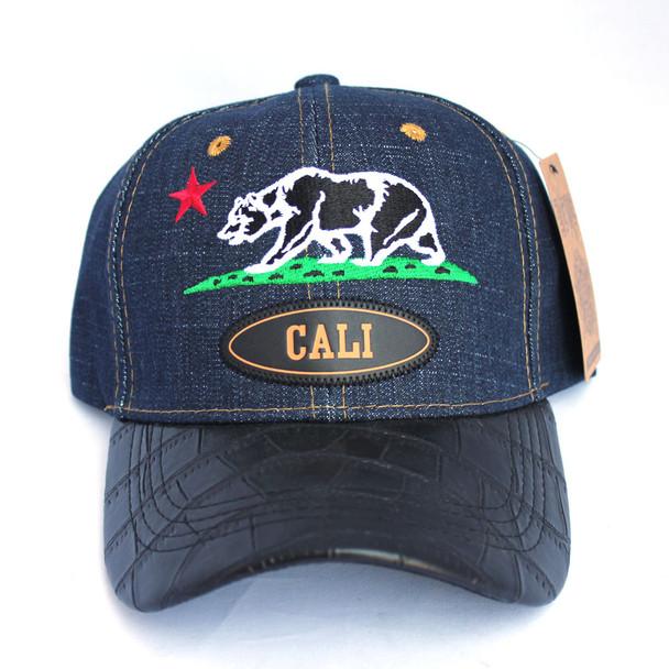 Blue Denim Cali Bear Hat